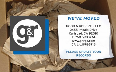 Good & Roberts, LLC Has Moved!
